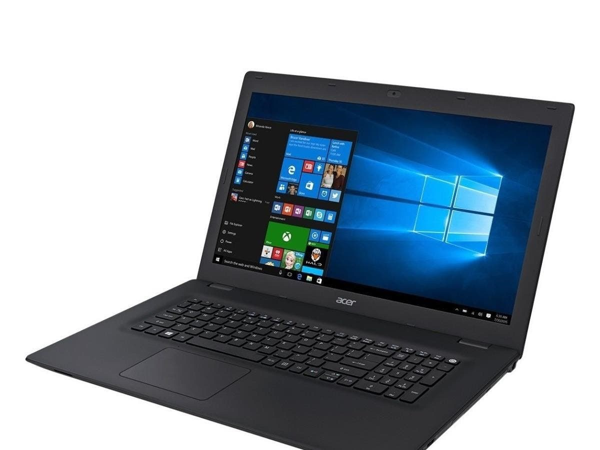 "Acer TravelMate P278-M TMP278-M-52UJ 17.3"" LED (ComfyView) Notebook - Intel Core i5 i5-6200U Dual-core (2 Core) 2.30 GHz - 8 GB DDR3L SDRAM RAM - 1 TB HDD - DVD-Writer - Intel HD Graphics 520"