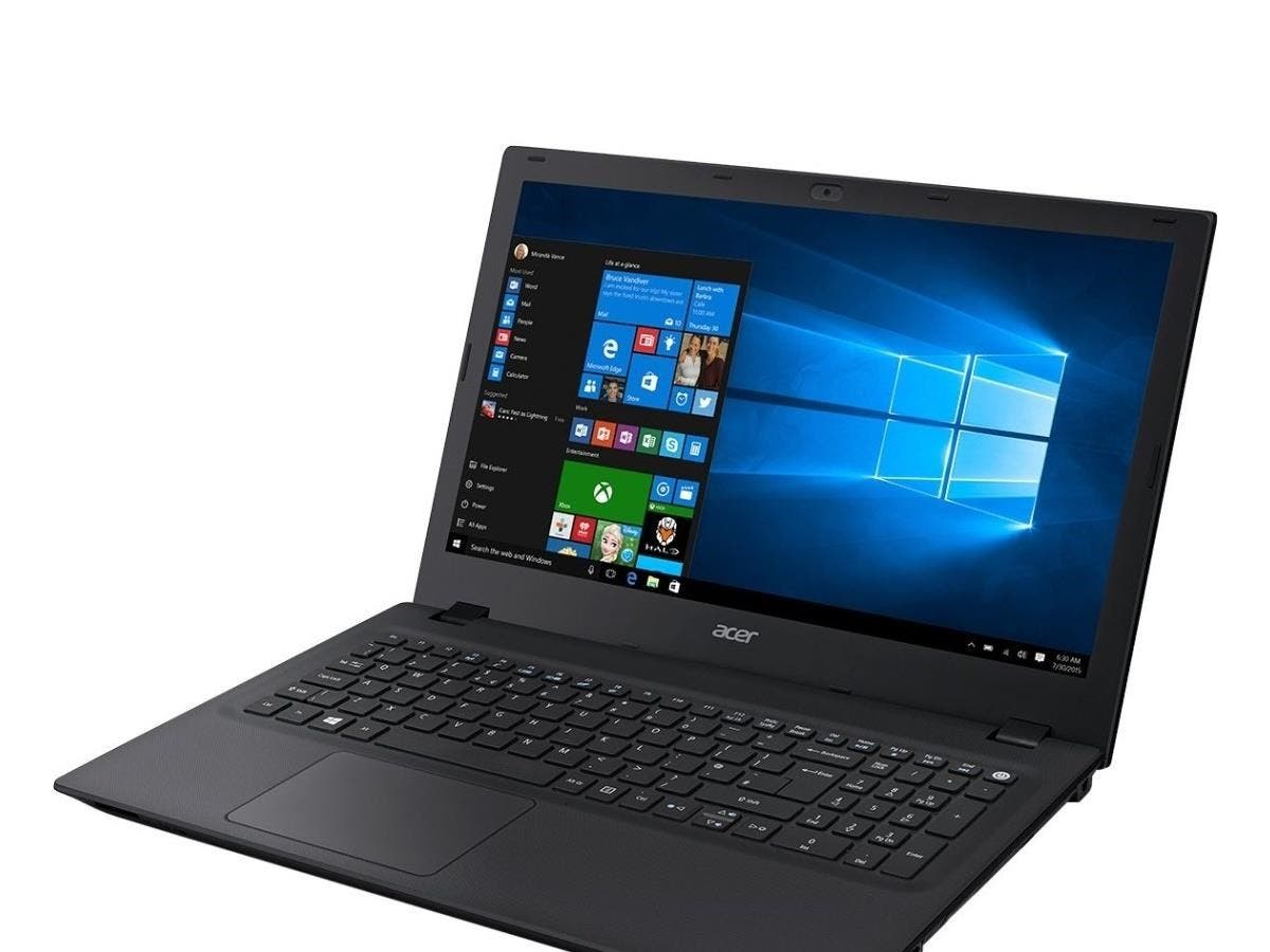 "Acer TravelMate P258-M TMP258-M-716Z 15.6"" LED (ComfyView) Notebook - Intel Core i7 i7-6500U Dual-core (2 Core) 2.50 GHz - 8 GB DDR3L SDRAM RAM - 500 GB HDD - DVD-Writer - Intel HD Graphics 520"