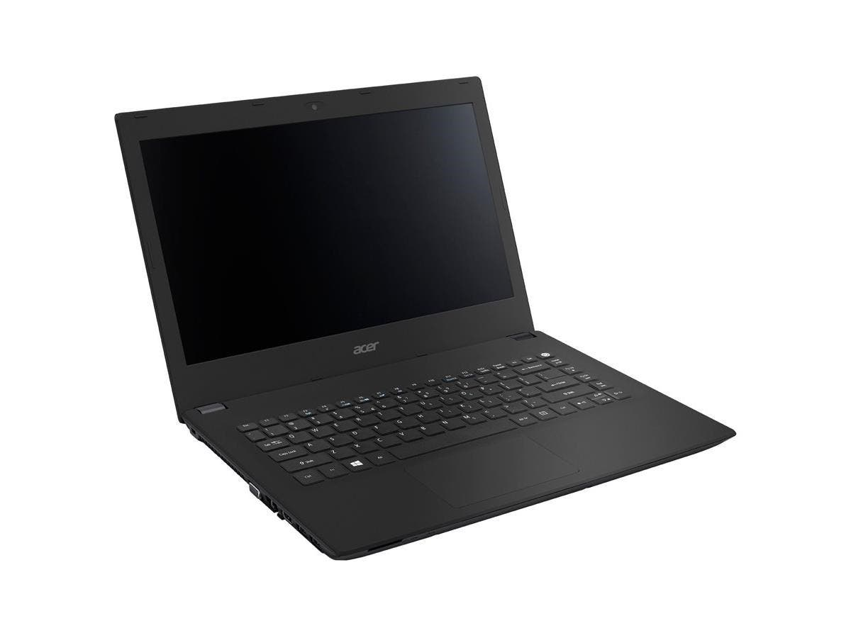 "Acer TravelMate P248-M TMP248-M-57J4 14"" LED (ComfyView) Notebook - Intel Core i5 i5-6200U Dual-core (2 Core) 2.30 GHz - 4 GB DDR3L SDRAM RAM - 500 GB HDD - Intel HD Graphics 520 DDR3L SDRAM-Large-Image-1"