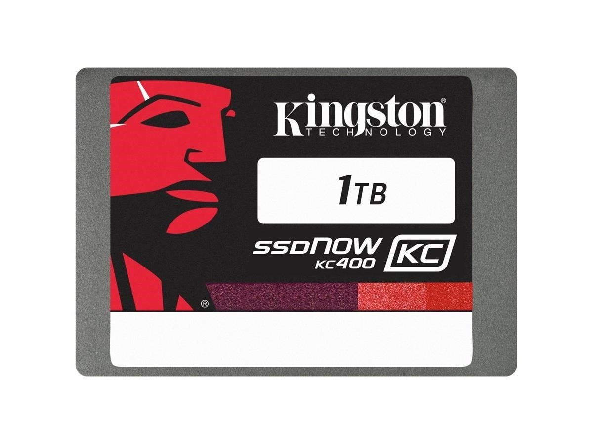 "Kingston SSDNow KC400 1 TB 2.5"" Internal Solid State Drive - SATA - 550 MB/s Maximum Read Transfer Rate - 530 MB/s Maximum Write Transfer Rate"