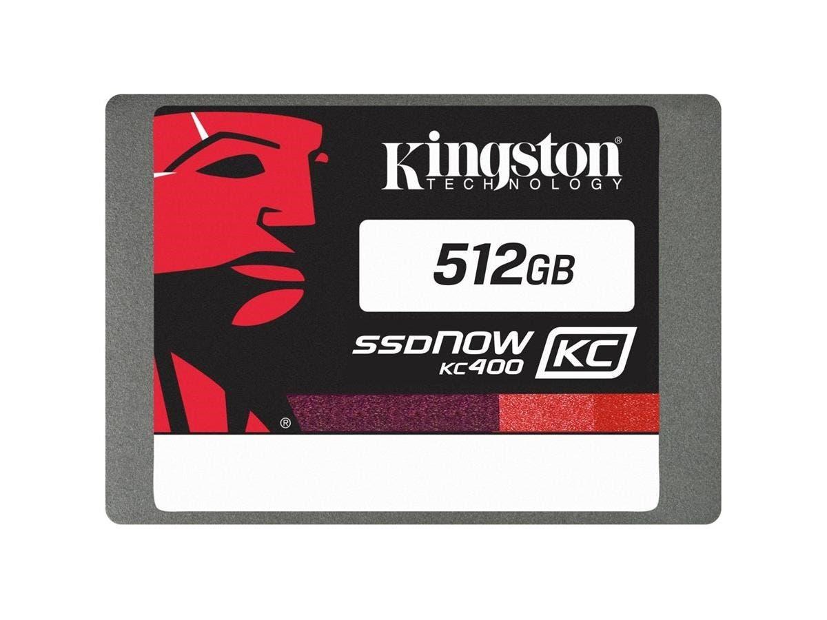 """Kingston SSDNow KC400 512 GB 2.5"""" Internal Solid State Drive - SATA - 550 MB/s Maximum Read Transfer Rate - 530 MB/s Maximum Write Transfer Rate"""