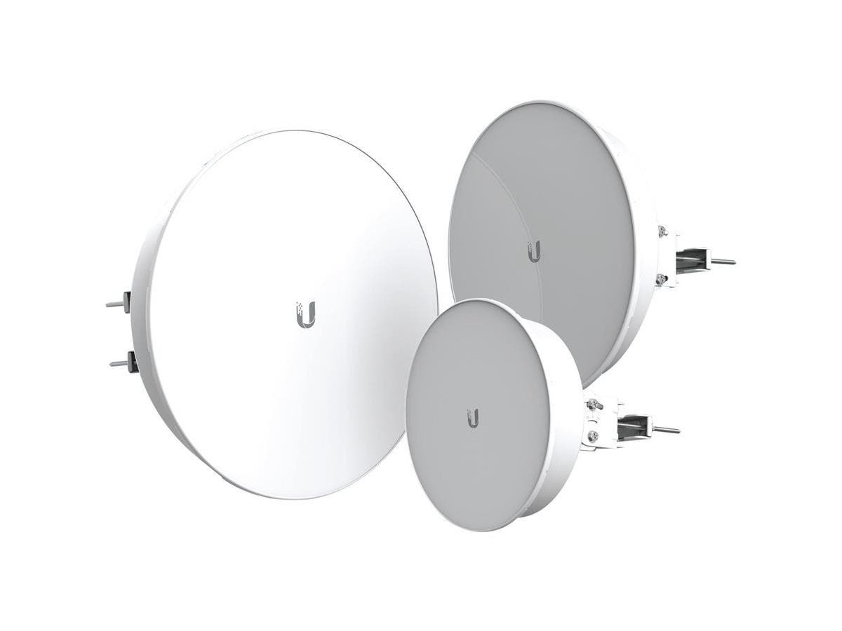 Ubiquiti PowerBeam ac PBE-5AC-500-ISO IEEE 802.11ac Wireless Bridge - 5 GHz - 1 x Network (RJ-45) - PoE - Pole-mountable-Large-Image-1