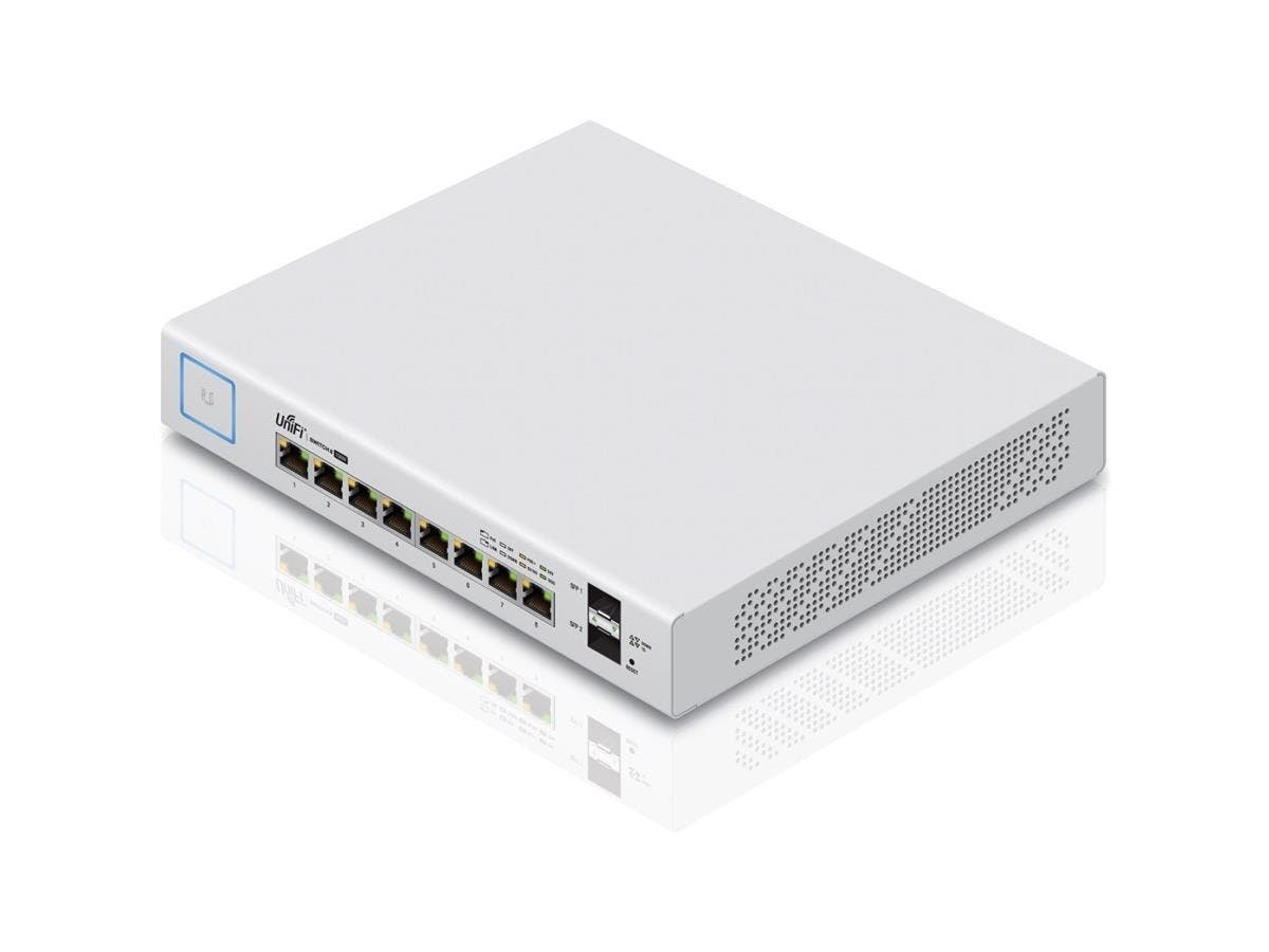 Ubiquiti UniFi Ethernet Switch - 8 - 2 Layer Supported - Monoprice.com