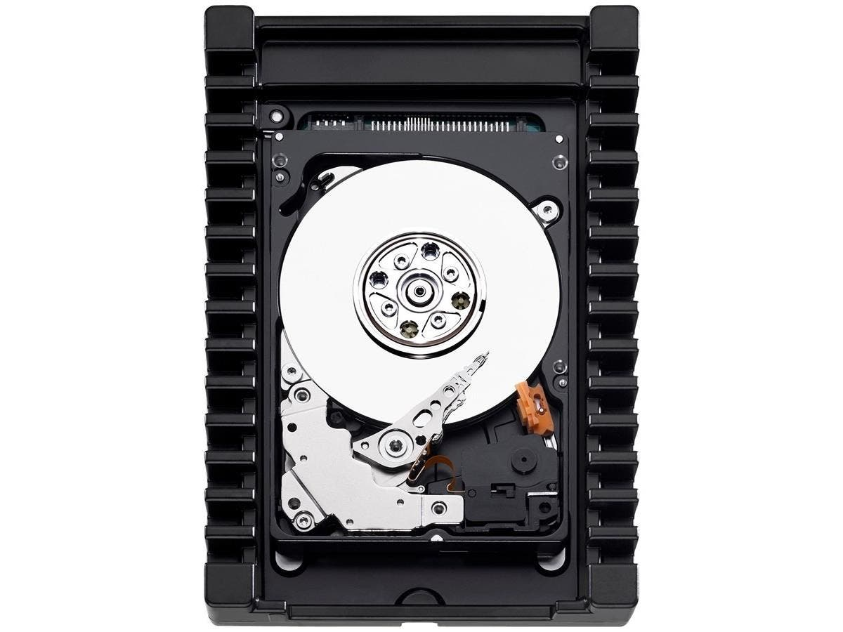 "WD VelociRaptor WD1600HLHX 160 GB 3.5"" Internal Hard Drive - SATA - 10000rpm-Large-Image-1"