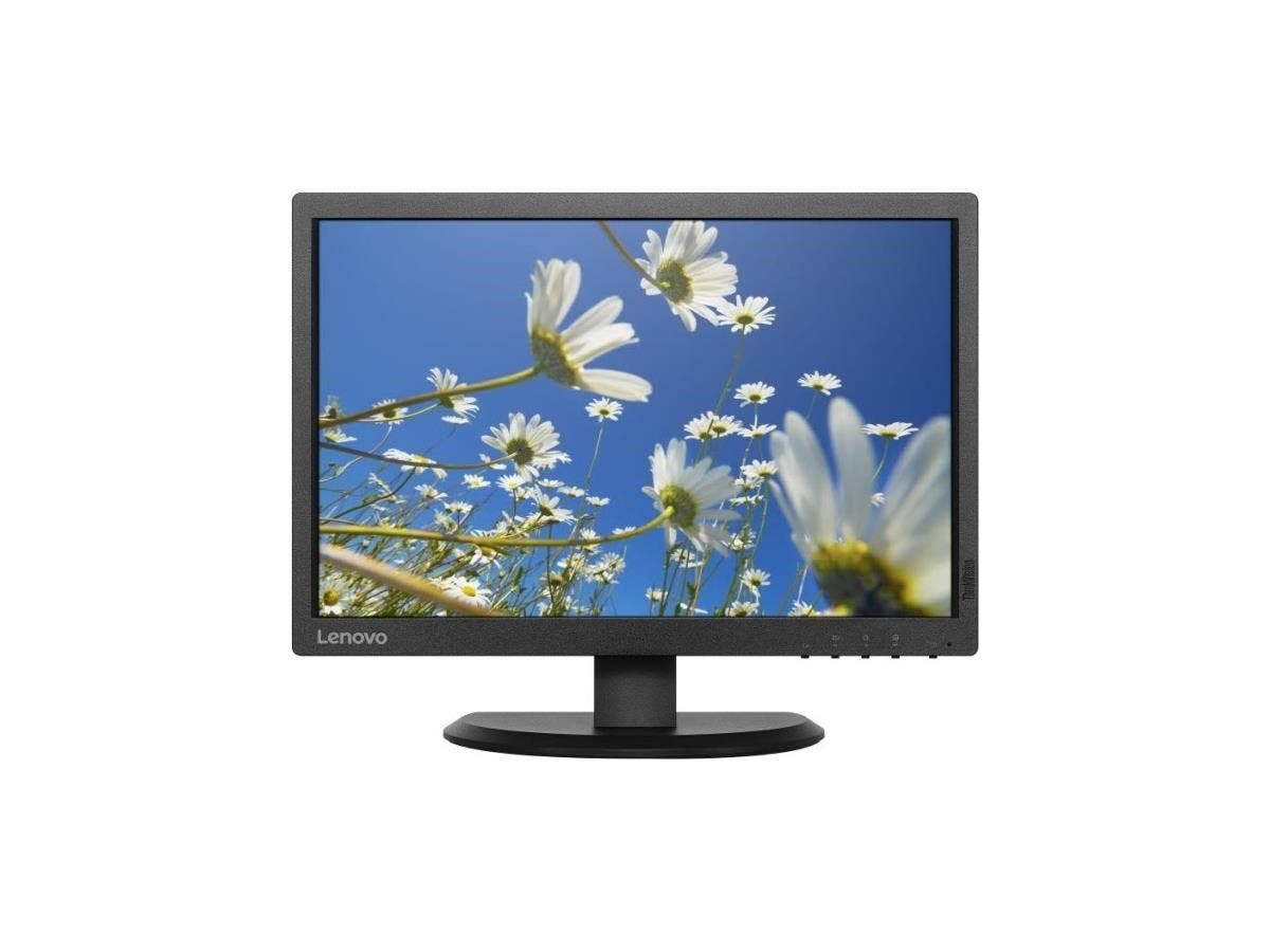 "Lenovo ThinkVision E2054 19.5"" LED LCD Monitor - 16:10 - 14 ms - 1440 x 900 - 16.7 Million Colors - 250 Nit - 1,000:1 - WXGA+ - VGA - 20 W - Black - WEEE, ErP, TCO Certified Edge"