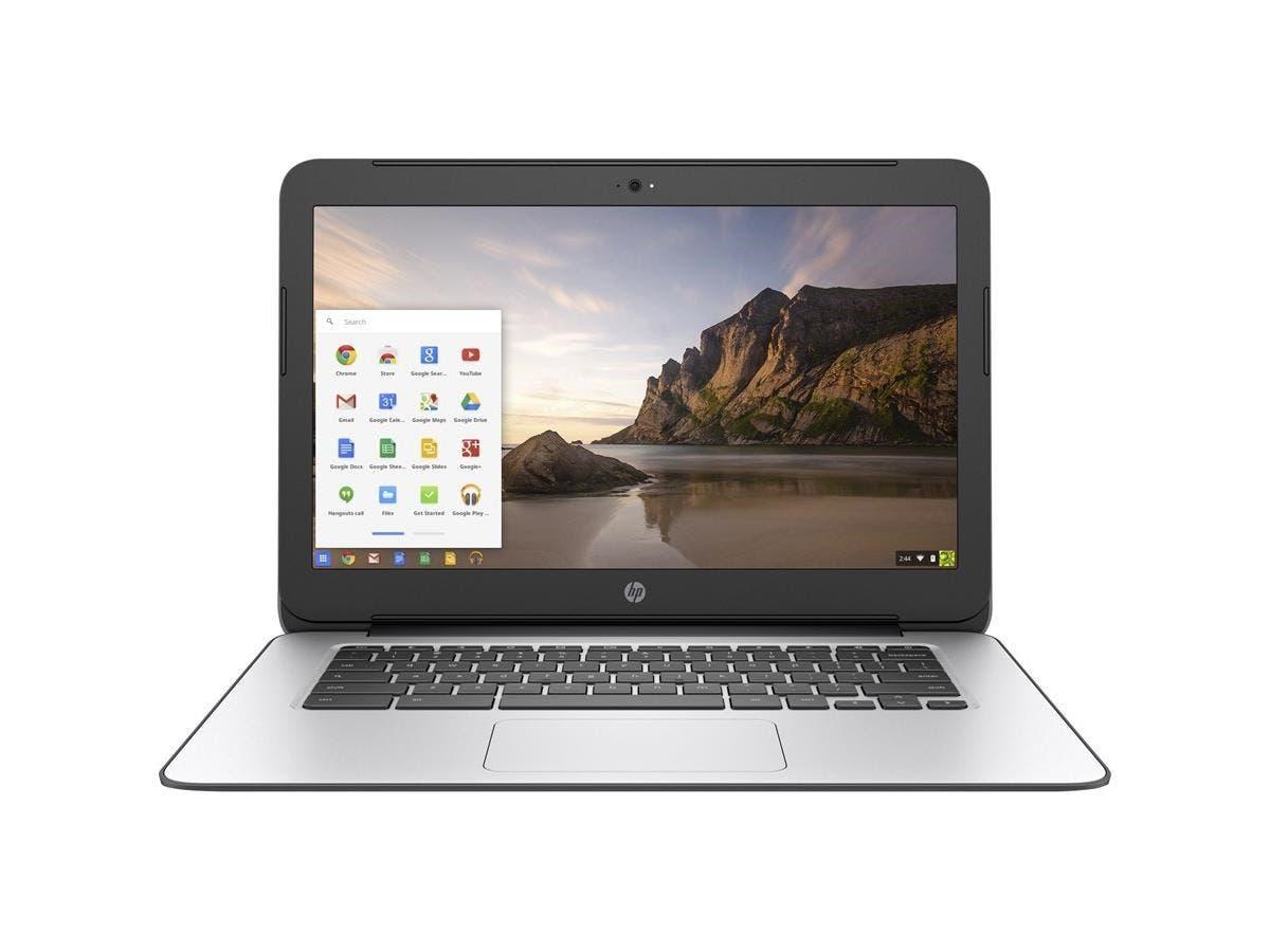 "HP Chromebook 14 G4 14"" Chromebook - Intel Celeron N2840 Dual-core (2 Core) 2.16 GHz - 4 GB DDR3L SDRAM RAM - 16 GB SSD - Intel HD Graphics DDR3L SDRAM - Chrome OS (English) - 1366 x 768"