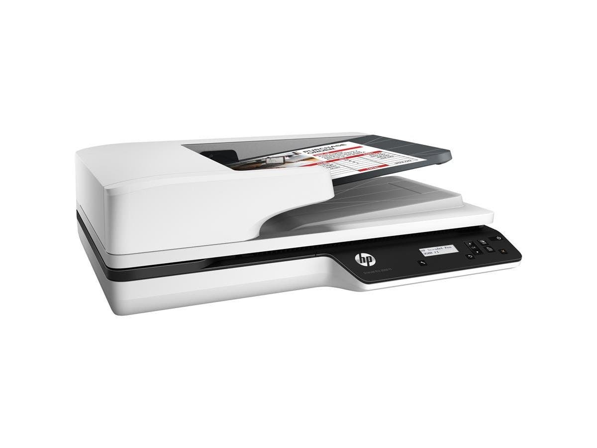 HP ScanJet Pro 3500 f1 Flatbed Scanner - 1200 dpi Optical - 24-bit Color - 25 - 25 - Duplex Scanning - USB-Large-Image-1