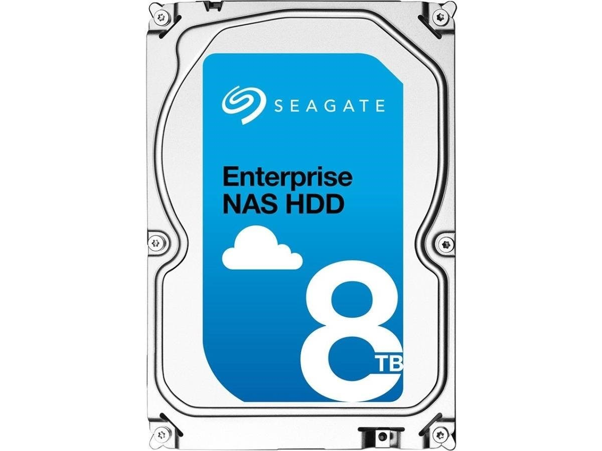 "Seagate ST8000NE0001 8 TB 3.5"" Internal Hard Drive - SATA - 7200rpm - 256 MB Buffer - Hot Pluggable - 512-bit Encryption Standard"
