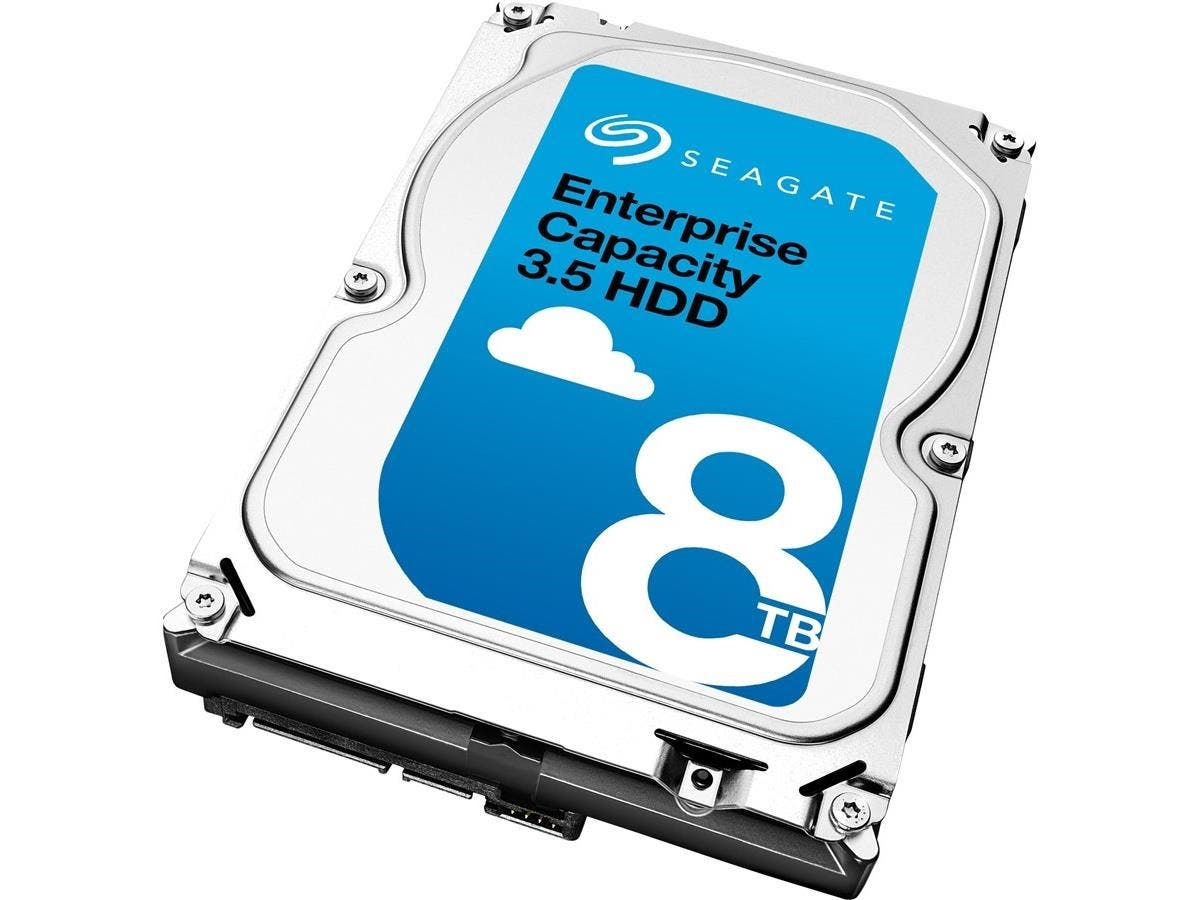 "Seagate ST8000NM0045 8 TB 3.5"" Internal Hard Drive - SATA - 7200rpm - 256 MB Buffer-Large-Image-1"