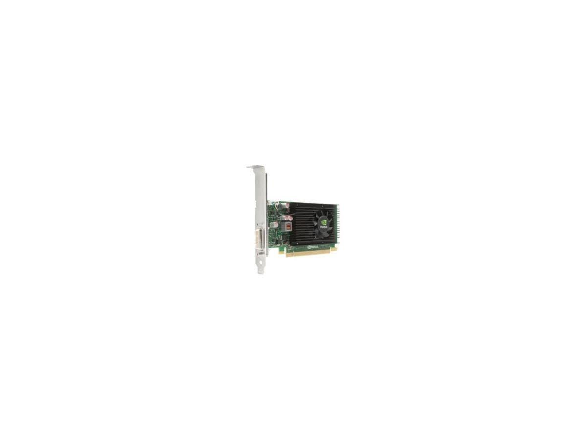 HP Quadro NVS 310 Graphic Card - 1 GB DDR3 SDRAM - PCI Express 2.0 x16 - Low-profile - DirectX 11.0, OpenGL 4.2 - 2 x DisplayPort - PC - 2 x Monitors Supported