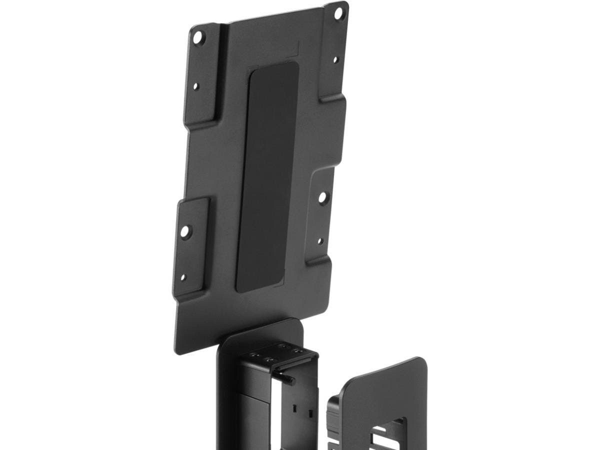HP Mounting Bracket for Computer, Thin Client - Black-Large-Image-1