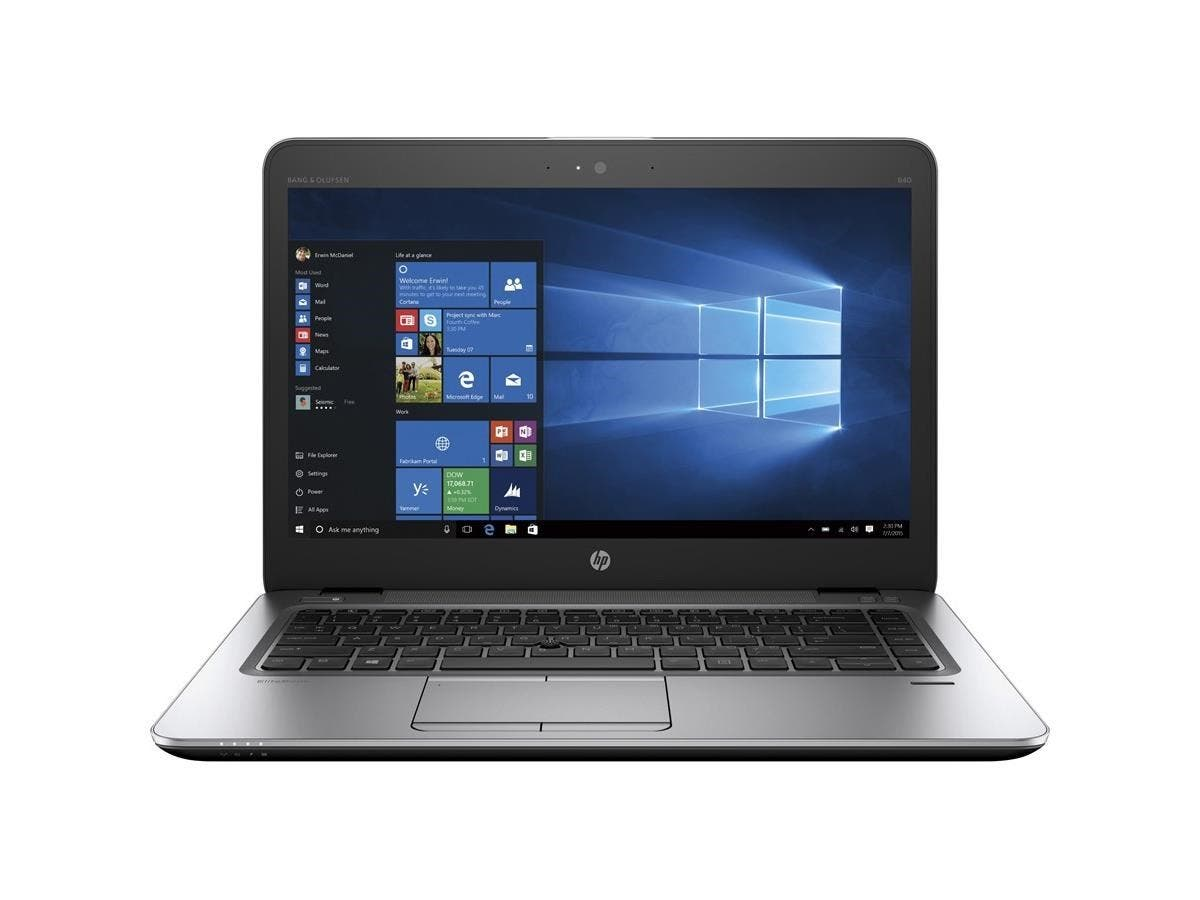 "HP EliteBook 840 G3 14"" Notebook - Intel Core i5 (6th Gen) i5-6300U Dual-core (2 Core) 2.40 GHz - 8 GB DDR4 SDRAM RAM - 500 GB HDD - Intel HD Graphics 520 DDR4 SDRAM - Windows 7 Pro 64-bit"