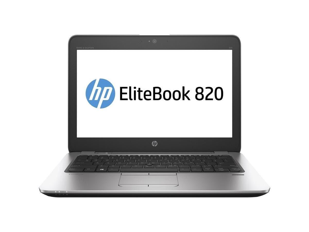 "HP EliteBook 820 G3 12.5"" Notebook - Intel Core i5 (6th Gen) i5-6200U Dual-core (2 Core) 2.30 GHz - 8 GB DDR4 SDRAM RAM - 256 GB SSD - Intel HD Graphics 520 DDR4 SDRAM - Windows 7 Pro 64-bit-Large-Image-1"