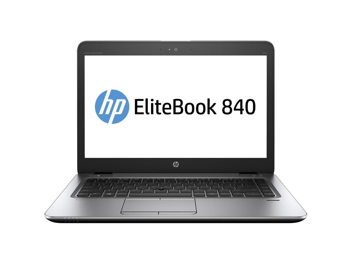 "HP EliteBook 840 G3 14"" Notebook - Intel Core i5 (6th Gen) i5-6300U Dual-core (2 Core) 2.40 GHz - 8 GB DDR4 SDRAM RAM - 256 GB SSD - HD Graphics 520 DDR4 SDRAM - Windows 7 Professional 64-bit -Large-Image-1"