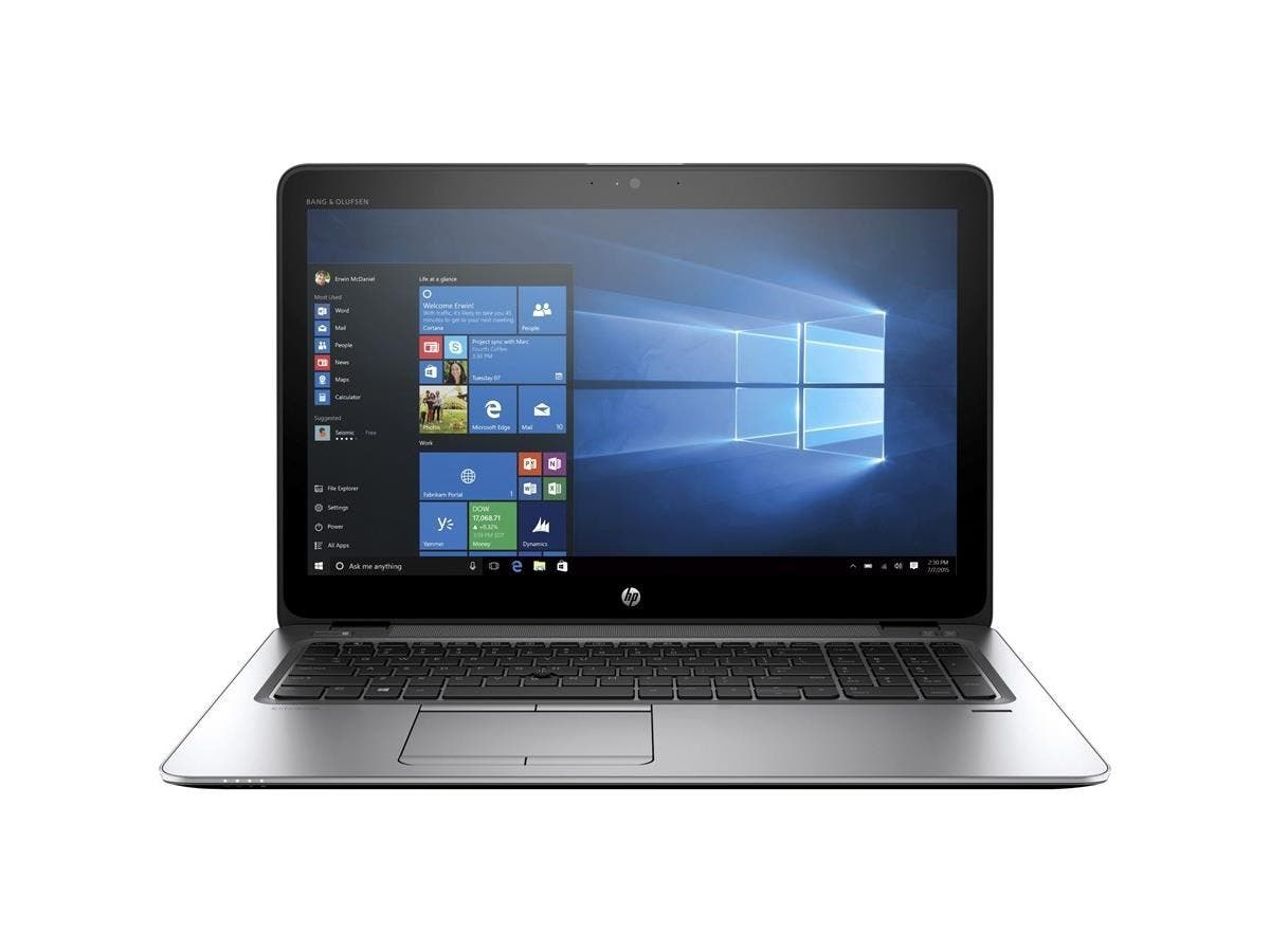 "HP EliteBook 840 G3 14"" Ultrabook - Intel Core i7 (6th Gen) i7-6600U Dual-core (2 Core) 2.60 GHz - 8 GB DDR4 SDRAM RAM - 256 GB SSD - Intel HD Graphics 520 DDR4 SDRAM - Windows 7 Pro 64-bit-Large-Image-1"
