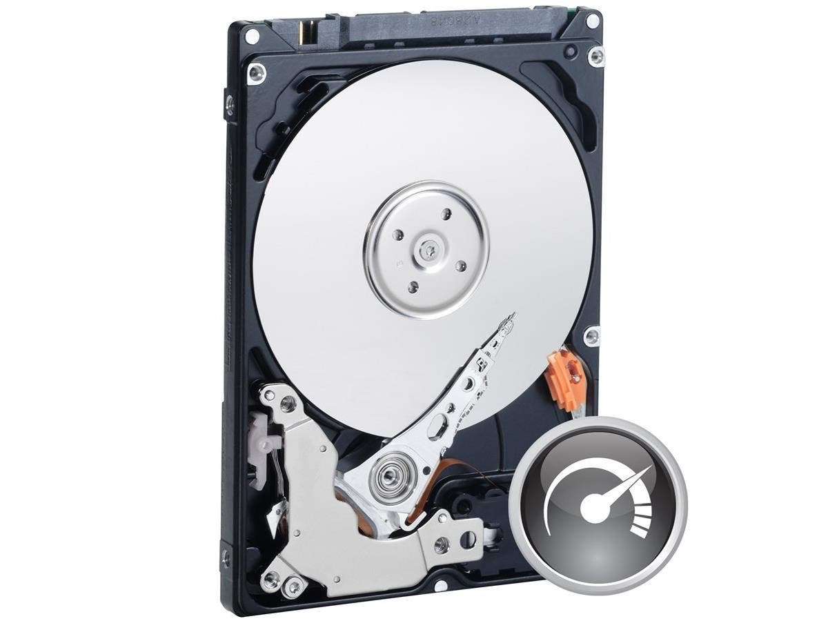 "WD Black WD3200BEKT 320 GB 2.5"" Internal Hard Drive - SATA - 7200rpm - 16 MB Buffer - Bulk-Large-Image-1"