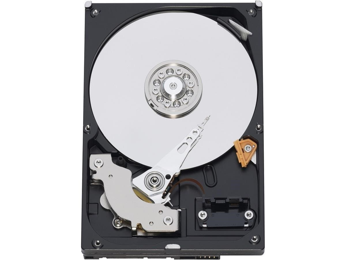 WD Caviar Blue WD800AAJS Hard Drive - 80GB - 7200rpm - Serial ATA/300 - Serial ATA - Internal - Bulk-Large-Image-1