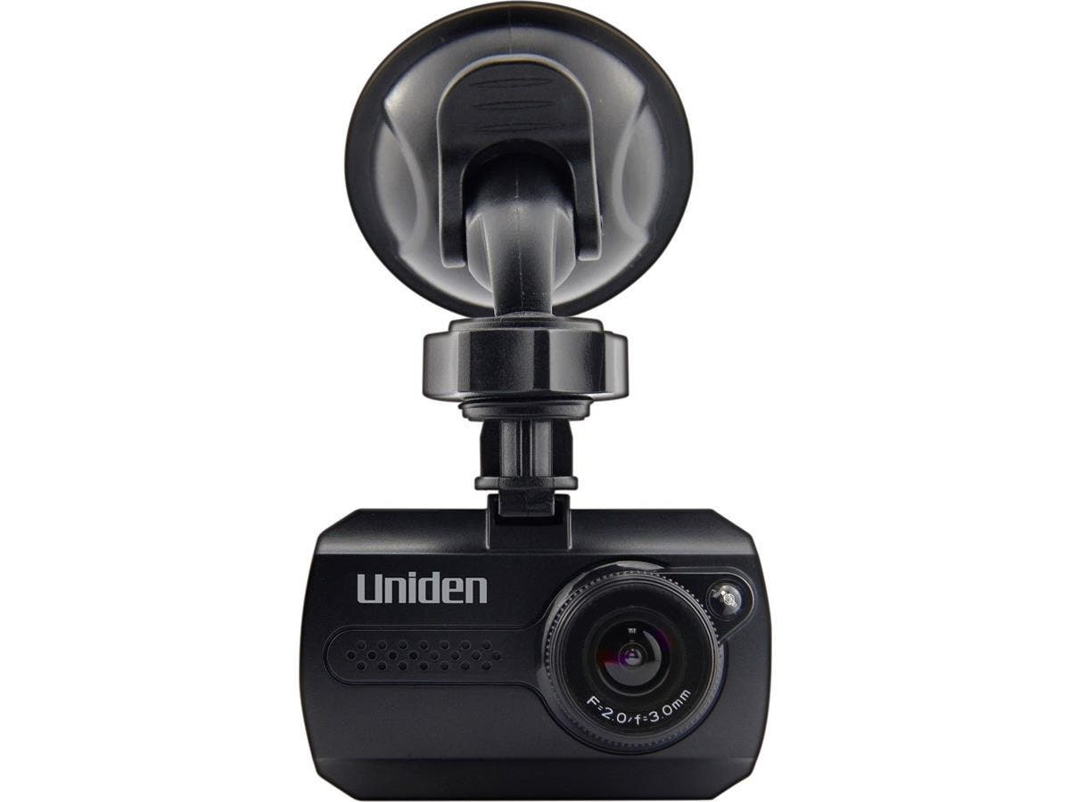 "Uniden Dash Cam Digital Camcorder - 1.5"" LCD - Full HD - Black - 16:9 - USB - microSD - Memory Card - Suction Mount, Dashboard Mount-Large-Image-1"