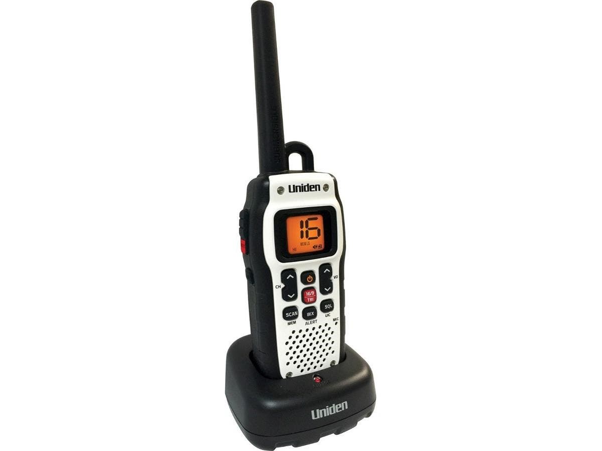 Uniden Atlantis 150 Marine VHF Radio - For Marine with NOAA All Hazard, Weather Disaster - VHF - 16/9/Tri Instant - 2.50 W - Handheld