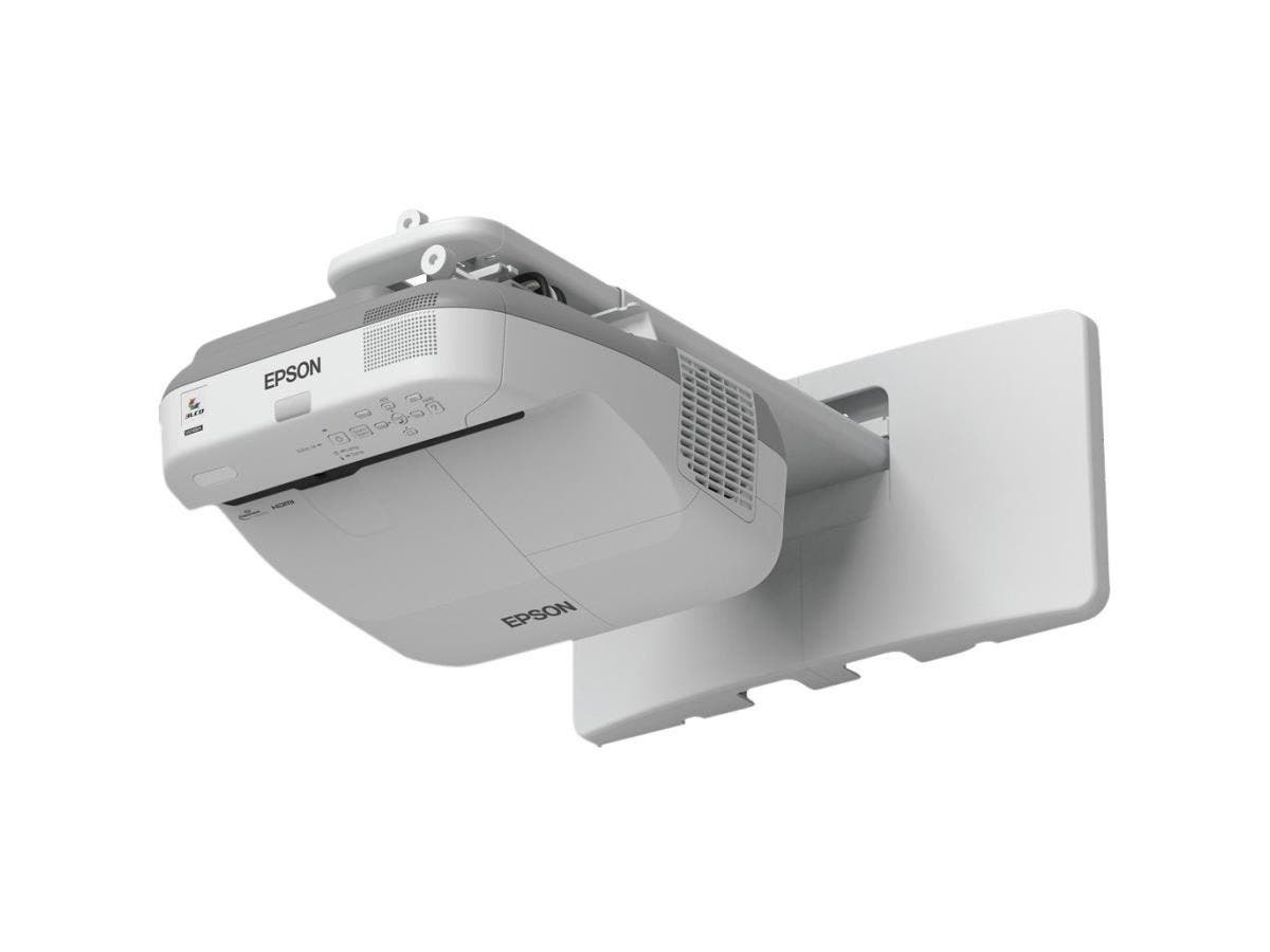 Epson PowerLite 585W LCD Projector - HDTV - 16:10 - Front, Rear - Interactive - UHE - 245 W - 4000 Hour Normal Mode - 6000 Hour Economy Mode - 1280 x 800 - WXGA - 10,000:1 - 3300 lm - HDMI - USB - 376