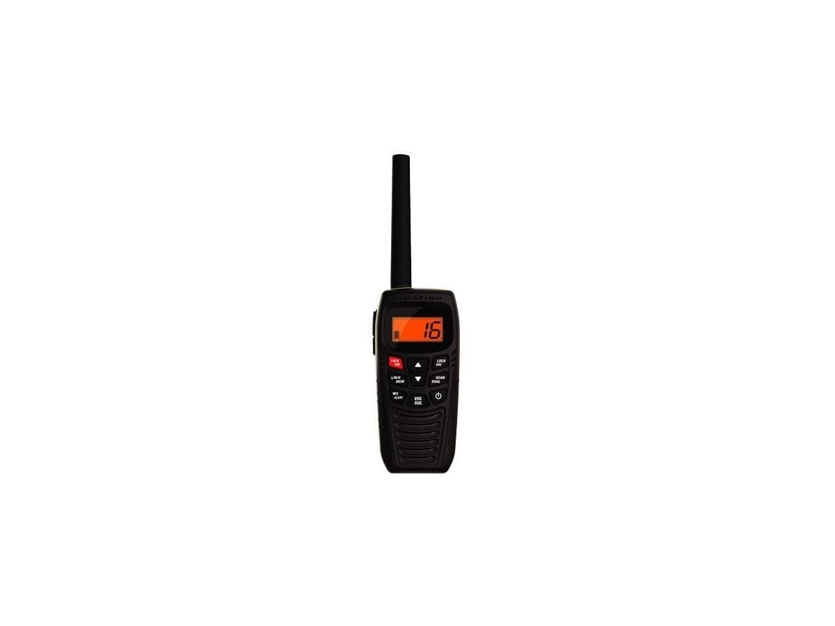 Uniden Handheld Floating Two-Way VHF Marine Radio - For Marine with NOAA All Hazard - VHF - 16/9 Instant - 6 W - Handheld-Large-Image-1