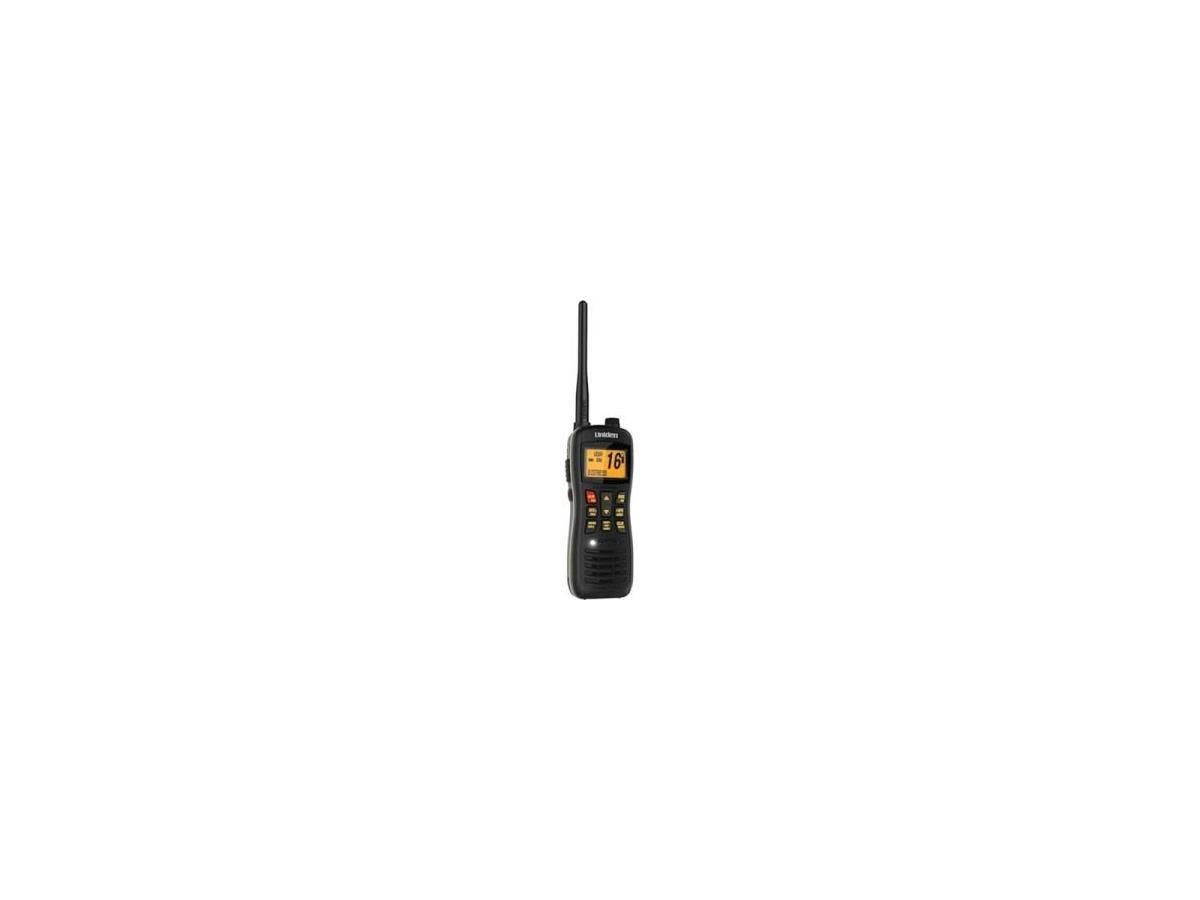 Uniden MHS235 Submersible Handheld DSC Marine Radio - For Marine with NOAA All Hazard, Weather Disaster - VHF, WX - Specific Area Message Encoding (SAME) - 2 Marine16/9 Instant - Handheld