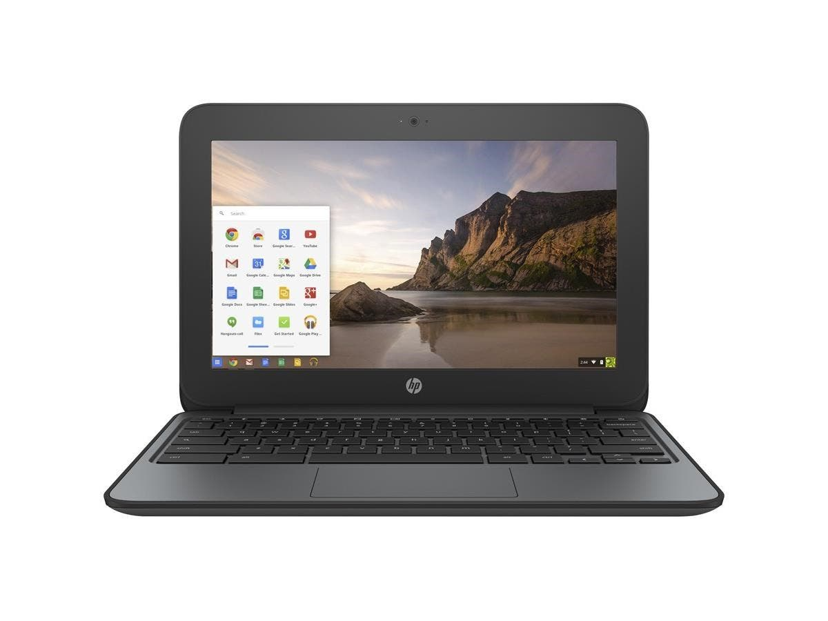"HP Chromebook 11 G4 EE 11.6"" Chromebook - Intel Celeron N2840 Dual-core (2 Core) 2.16 GHz - 4 GB DDR3L SDRAM RAM - Intel HD Graphics DDR3L SDRAM - Chrome OS (English) - 1366 x 768 16:9 Display"