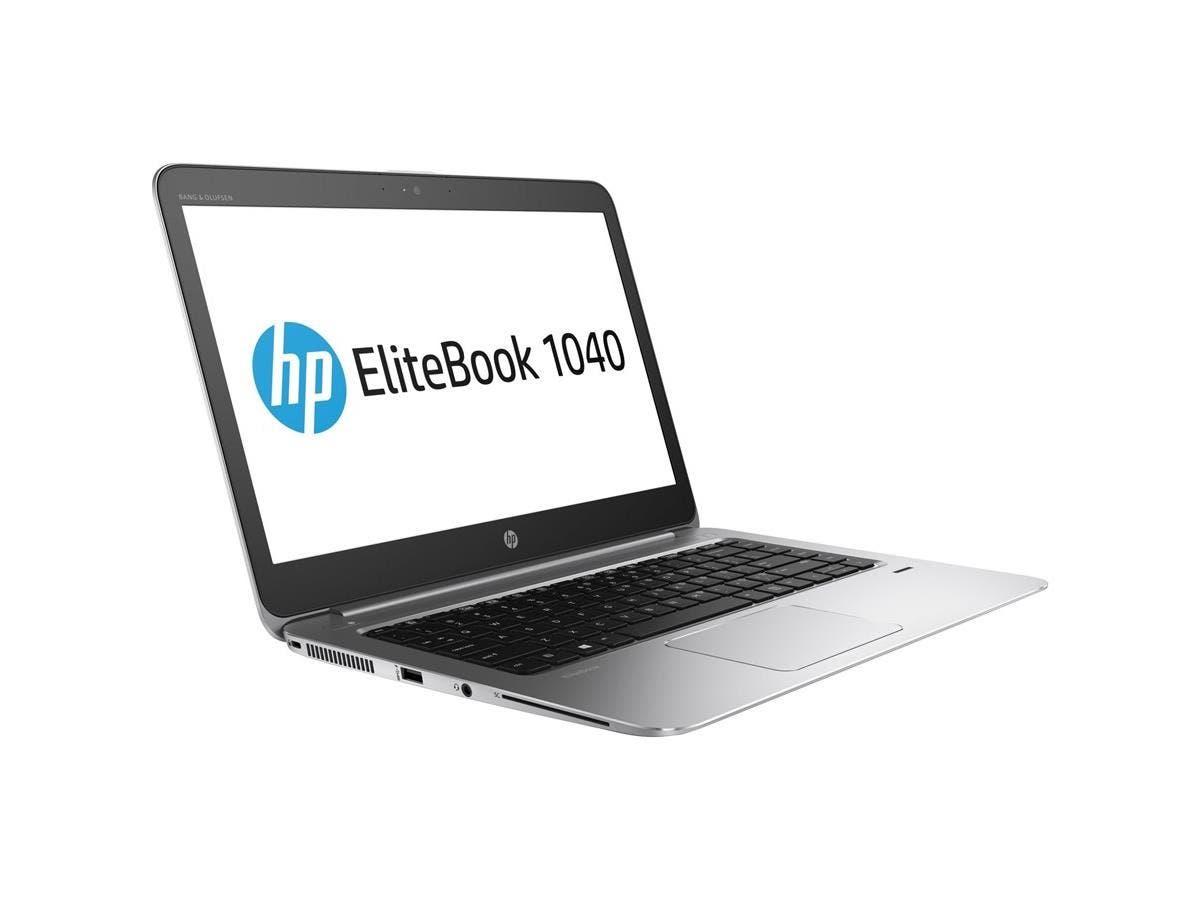 """HP EliteBook 1040 G3 14"""" 1920x1080 Notebook - Intel Core i5 (6th Gen) i5-6200U Dual-core (2 Core) 2.30 GHz - 8 GB DDR4 SDRAM RAM - 256 GB SSD - Intel HD Graphics 520 DDR4  - Win 7 Pro 64-bit"""