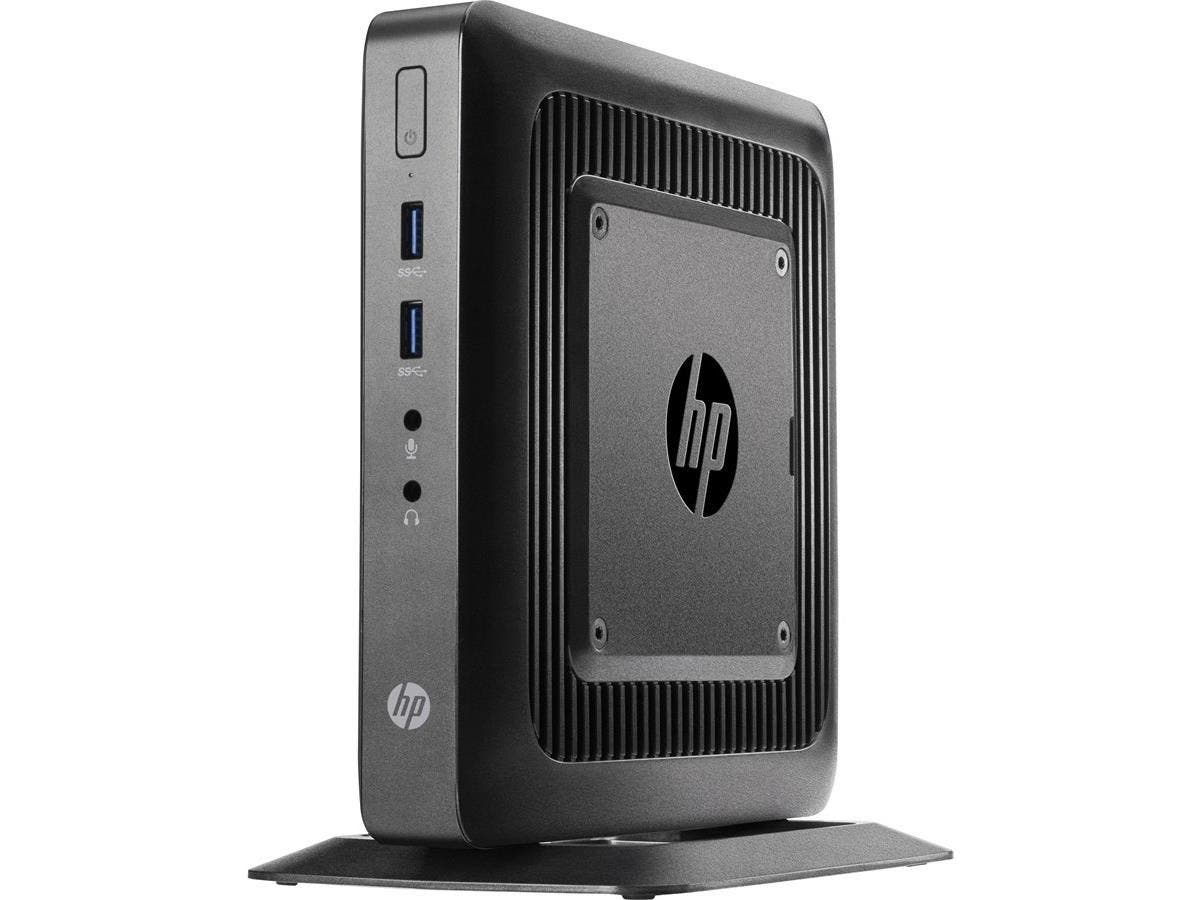 HP Thin Client - AMD G-Series GX-212JC Dual-core (2 Core) 1.20 GHz - 8 GB RAM DDR3L SDRAM - 64 GB Flash - AMD Radeon HD 8000 - Gigabit Ethernet - Windows 10 IoT Enterprise - Wireless LAN