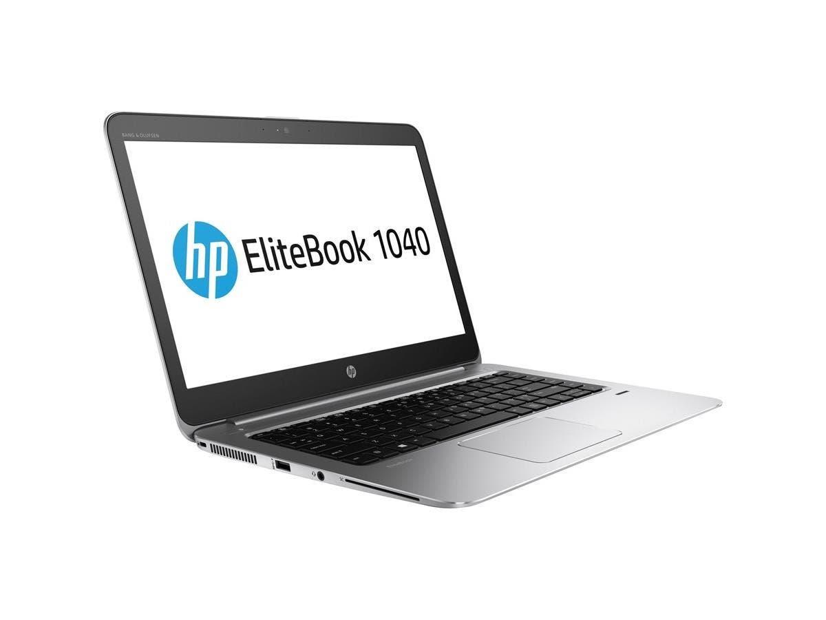 """HP EliteBook 1040 G3 14"""" 2560x1440 Notebook - Intel Core i7 (6th Gen) i7-6500U Dual-core (2 Core) 2.50 GHz - 8 GB DDR4 SDRAM RAM - 512 GB SSD - Intel HD Graphics 520 DDR4 SDRAM - Win 7 Pro 64-bit"""