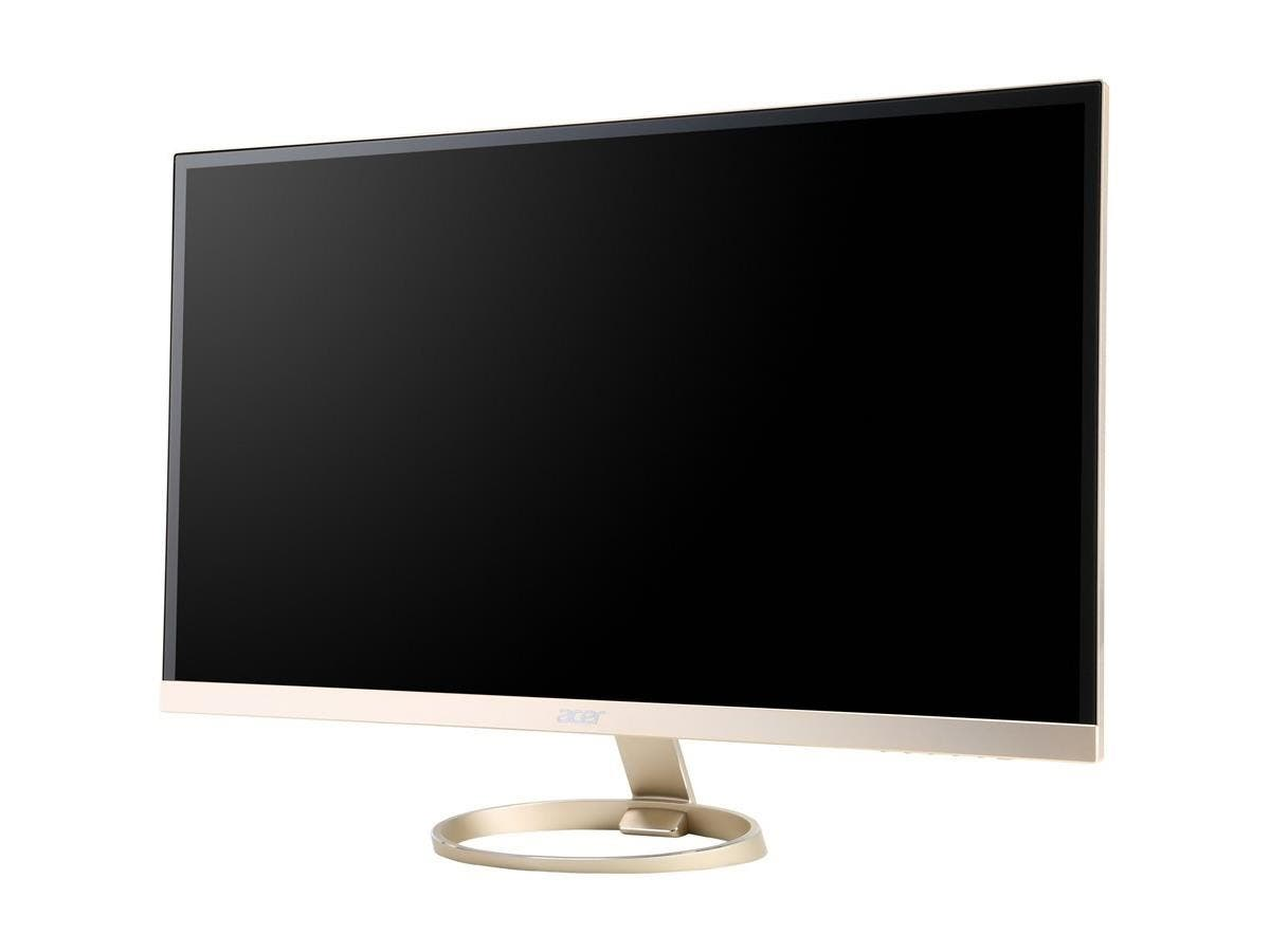 "Acer H277HU 27"" LED LCD Monitor - 16:9 - 4 ms - 2560 x 1440 - 16.7 Million Colors - 350 Nit - WQHD - Speakers - HDMI - DisplayPort-Large-Image-1"