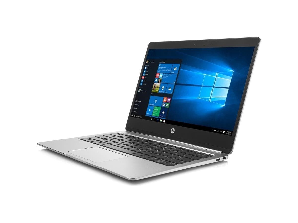 "HP EliteBook Folio G1 12.5"" Ultrabook - Intel Core M (6th Gen) m5-6Y54 Dual-core (2 Core) 1.10 GHz - 8 GB LPDDR3 RAM - 128 GB SSD - Intel HD Graphics 515 LPDDR3 - Windows 10 Pro 64-bit-Large-Image-1"