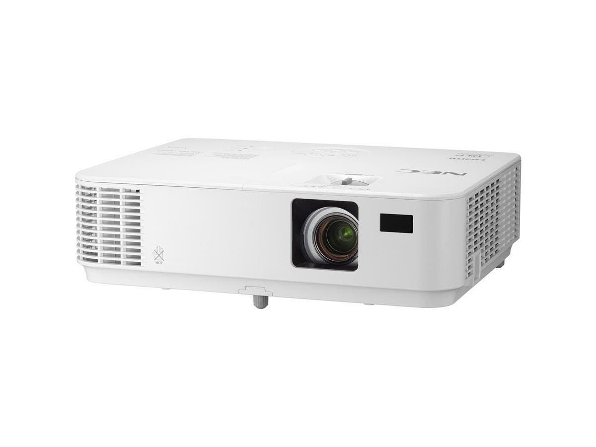 NEC NP-VE303X 3D Ready DLP Projector - 720p - HDTV - Front, Ceiling, Rear - AC - 195 W - 4500 Hour Normal Mode - 6000 Hour Economy Mode - 1024 x 768 - XGA - 10,000:1 - 3000 lm - HDMI - USB - 237 W - 2-Large-Image-1