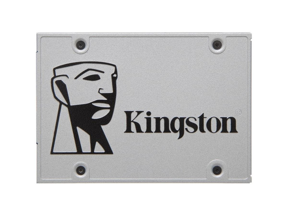 "Kingston SSDNow UV400 480 GB 2.5"" Internal Solid State Drive - SATA - 550 MB/s Maximum Read Transfer Rate - 500 MB/s Maximum Write Transfer Rate-Large-Image-1"