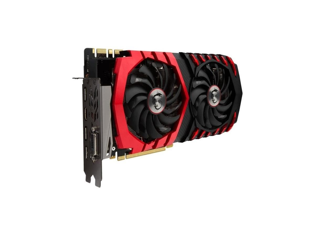 MSI GTX 1080 GAMING X 8G GeForce GTX 1080 Graphic Card - 1.71 GHz Core - 1.85 GHz Boost Clock - 8 GB GDDR5X - PCI Express 3.0 x16 - 256 bit Bus Width - SLI - Fan Cooler - 3 x DisplayPort - 1 x HDMI
