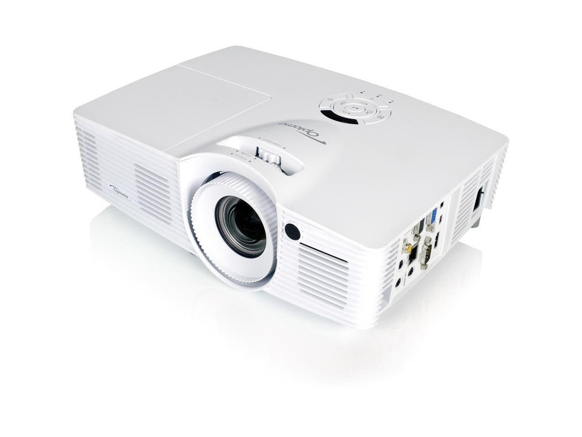 Optoma WU416 3D DLP Projector - 1080p - HDTV - 16:10 - Ceiling, Front - 260 W - 3000 Hour Normal Mode - 5000 Hour Economy Mode - 1920 x 1200 - WUXGA - 20,000:1 - 4200 lm - HDMI - USB-Large-Image-1