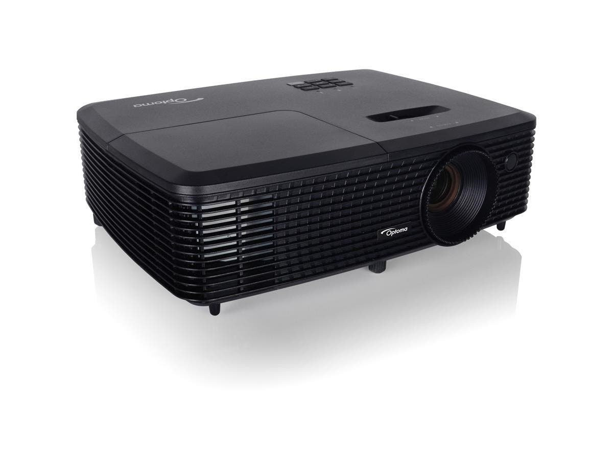 Optoma W331 3D DLP Projector - 720p - HDTV - 16:10 - Ceiling, Front - 195 W - 5000 Hour Normal Mode - 6000 Hour Economy Mode - 1280 x 800 - WXGA - 22,000:1 - 3300 lm - HDMI - USB - 225 W-Large-Image-1