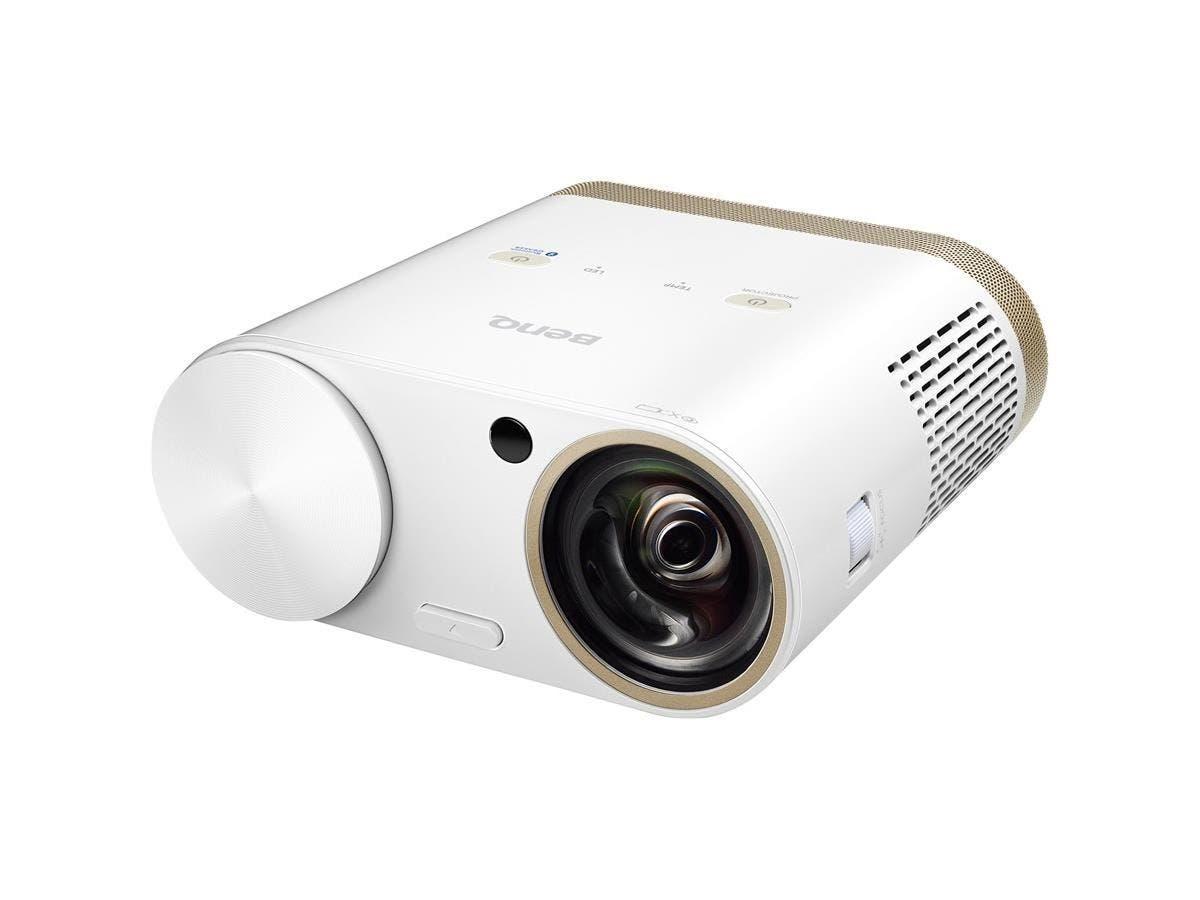 BenQ i500 3D DLP Projector - 720p - HDTV - 16:10 - Front - OSRAM - 20000 Hour Normal Mode - 30000 Hour Economy Mode - 1280 x 800 - WXGA - 100,000:1 - 500 lm - HDMI - USB - 75 W-Large-Image-1