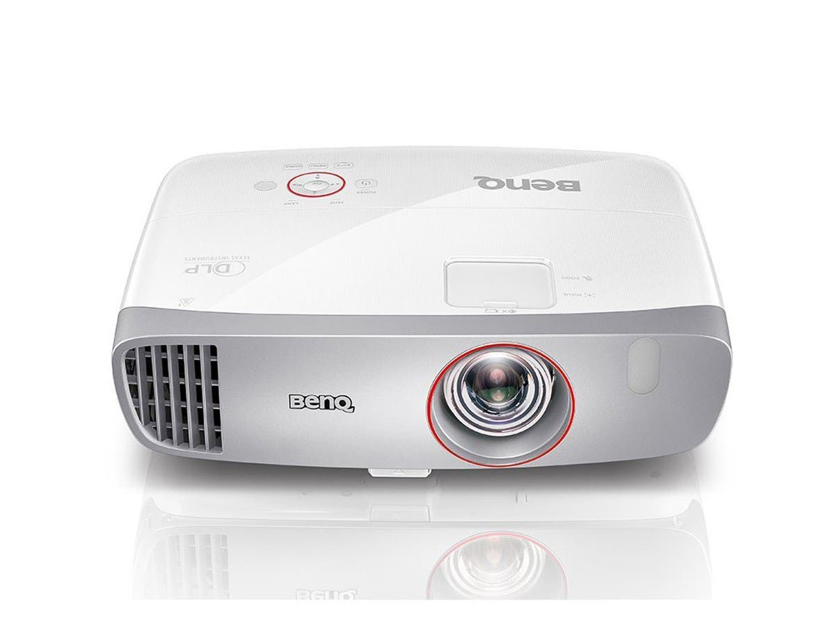 BenQ HT2150ST Home Gaming 1080p DLP Projector - White/Silver-Large-Image-1