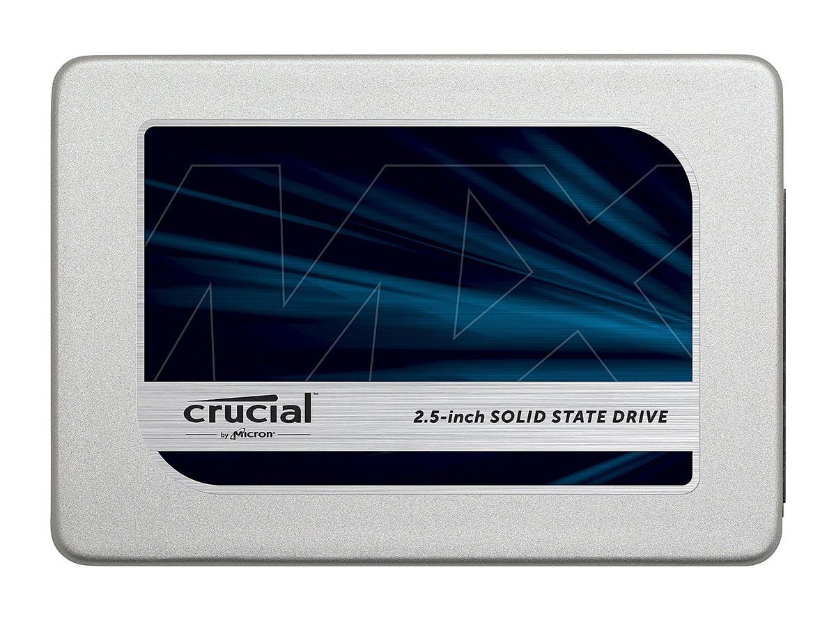 "Crucial MX300 2.5"" 525GB SATA III TLC Internal Solid State Drive (SSD) CT525MX300SSD1-Large-Image-1"