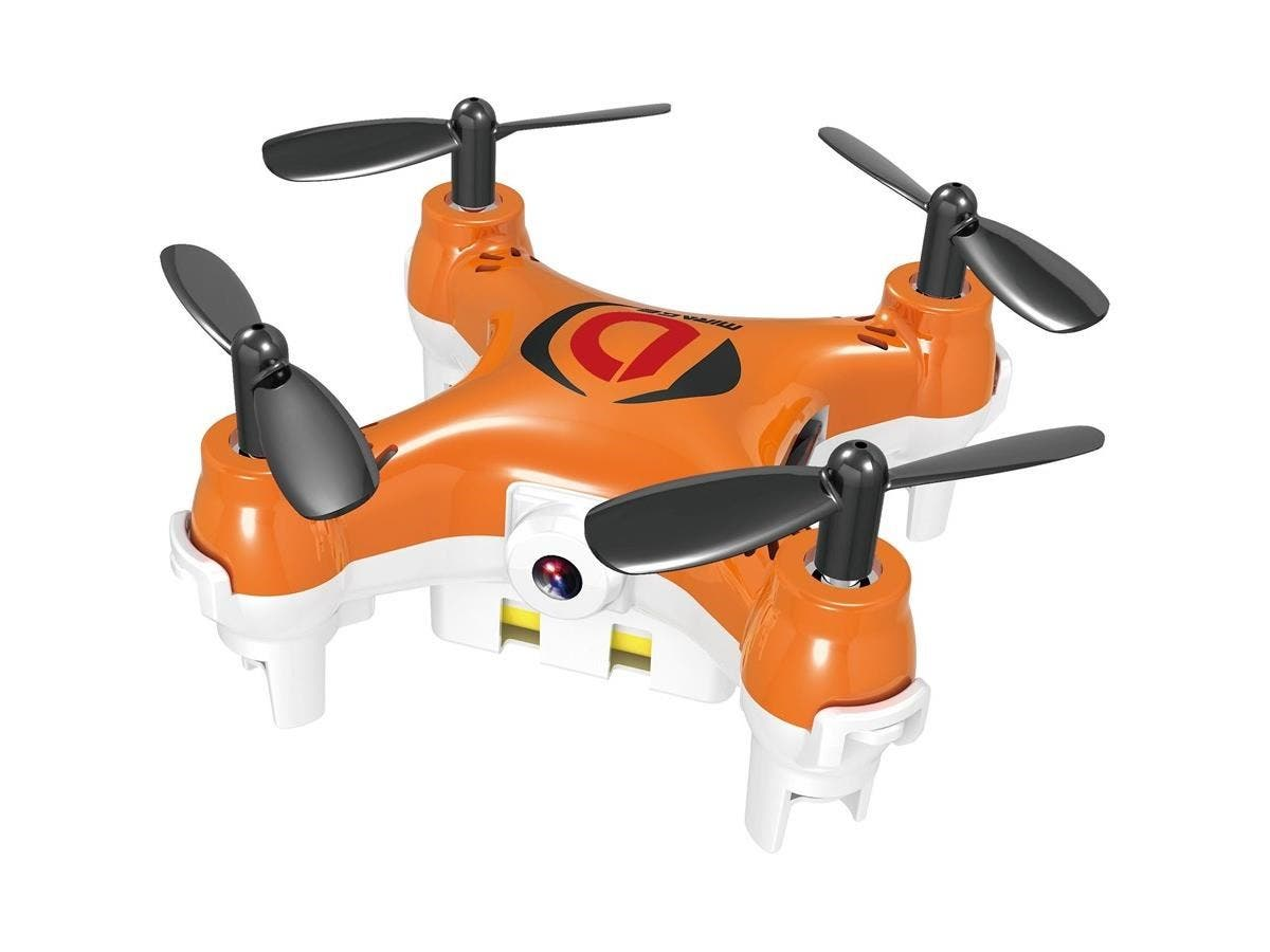 MYEPADS Mini Drone Mirage - 2.40 GHz - Battery Powered - 0.10 Hour Run Time - 164.04 ft Operating Range - 4 Channel - RF-Large-Image-1