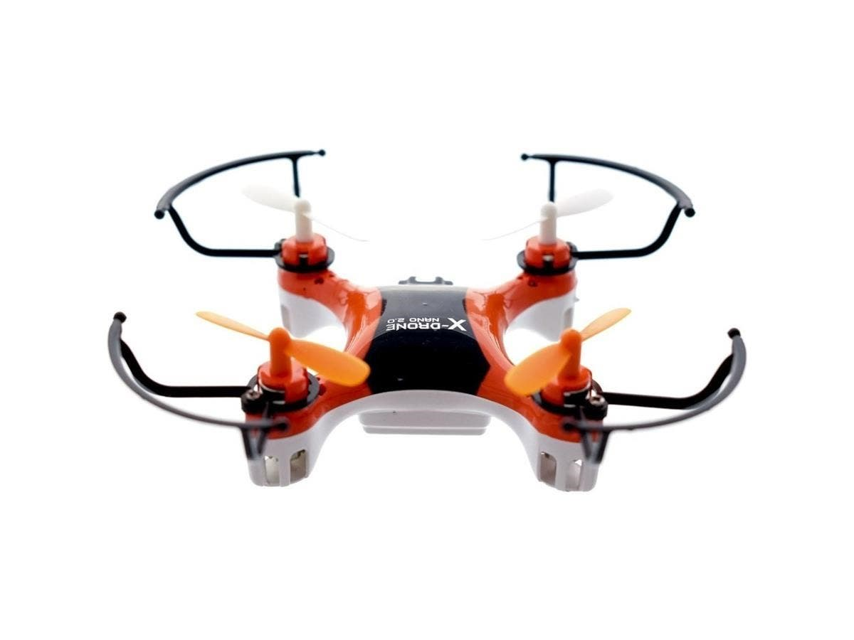 MYEPADS X-Drone Nano 2.0 Toy Drone - 2.40 GHz - Battery Powered - 0.10 Hour Run Time - 98.43 ft Operating Range - RF - Outdoor, Indoor-Large-Image-1