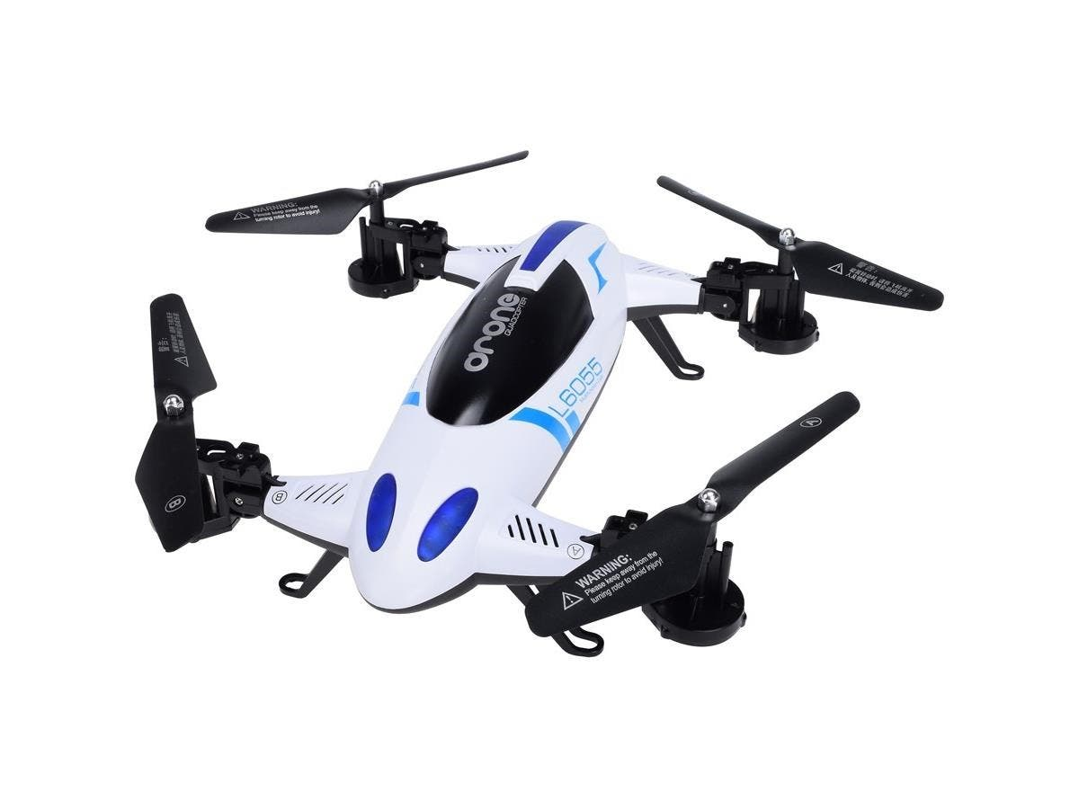 MYEPADS Toy Drone Vehicle - 2.40 GHz - Battery Powered - 0.25 Hour Run Time - 328.08 ft Operating Range - 4 Channel - RF-Large-Image-1