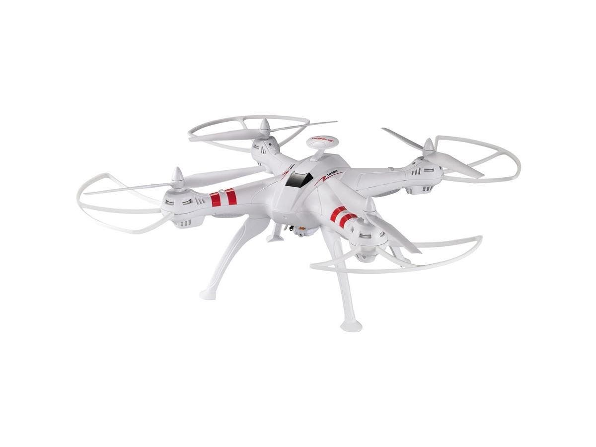 MYEPADS FPV 51CM Large RC Quadcopter with 2.0MP WIFI Live Camera - 2.40 GHz - Battery Powered - 0.17 Hour Run Time - RF-Large-Image-1