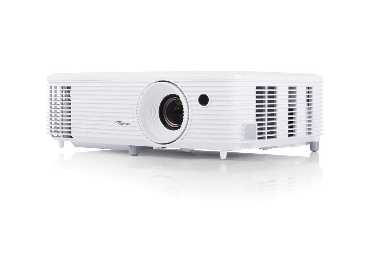 Optoma HD27 3D DLP Projector - 1080p - HDTV - 16:9 - Ceiling, Front - 195 W - 5000 Hour Normal Mode - 6000 Hour Economy Mode - 1920 x 1080 - Full HD - 25,000:1 - 3200 lm - HDMI - USB-Large-Image-1