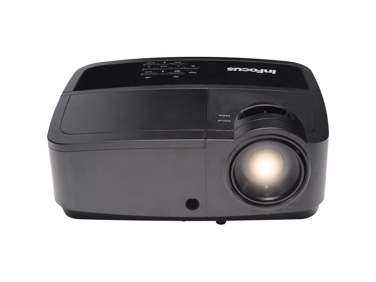InFocus IN2128HDx 3D Ready DLP Projector - 1080p - HDTV - 16:9 - Front, Ceiling - 260 W - 2000 Hour Normal Mode - 5000 Hour Economy Mode - 1920 x 1080 - Full HD - 14,000:1 - 4000 lm - HDMI - USB