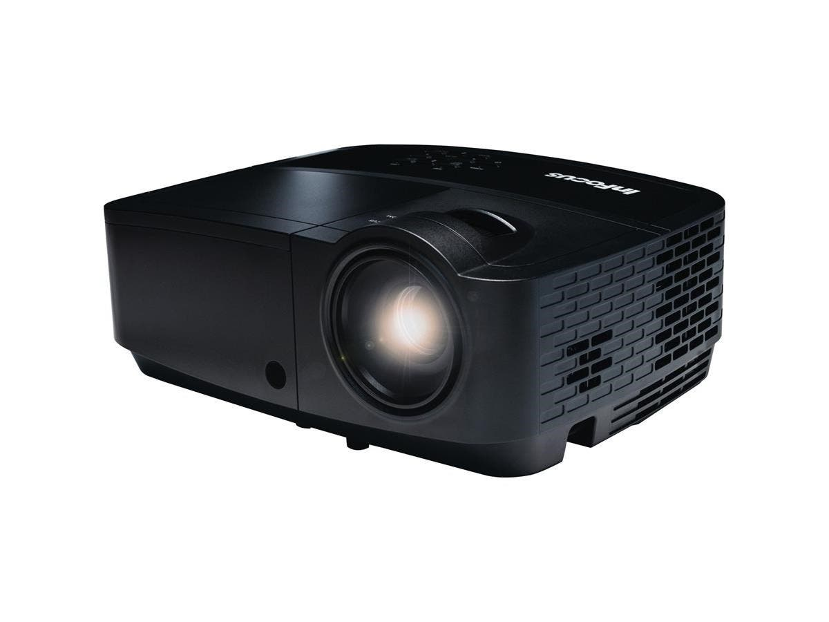 InFocus IN124x 3D Ready DLP Projector - 720p - HDTV - 4:3 - Front - 260 W - 2000 Hour Normal Mode - 5000 Hour Economy Mode - 1024 x 768 - XGA - 14,000:1 - 4000 lm - HDMI - USB - 1 Year Warranty