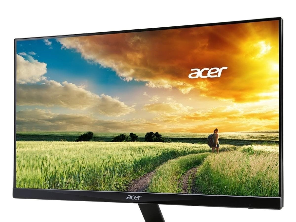"Acer R240HY 23.8"" LED LCD Monitor - 16:9 - 4 ms - 1920 x 1080 - 16.7 Million Colors - 250 Nit - 100,000,000:1 - Full HD - Speakers - HDMI - VGA - Black - MPR II"