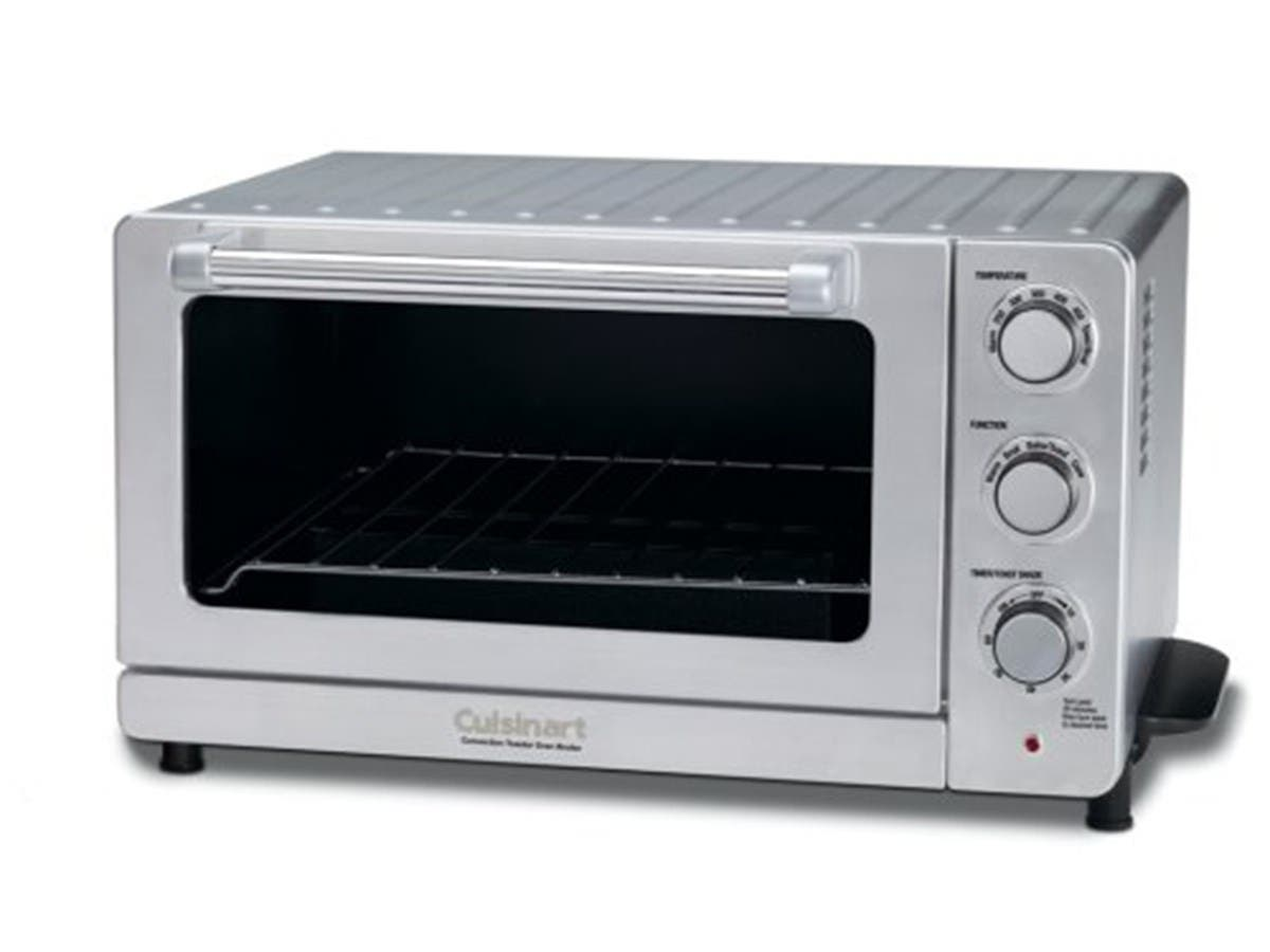 Cuisinart TOB-135N Deluxe Convection Toaster Oven Broiler, Stainless Steel