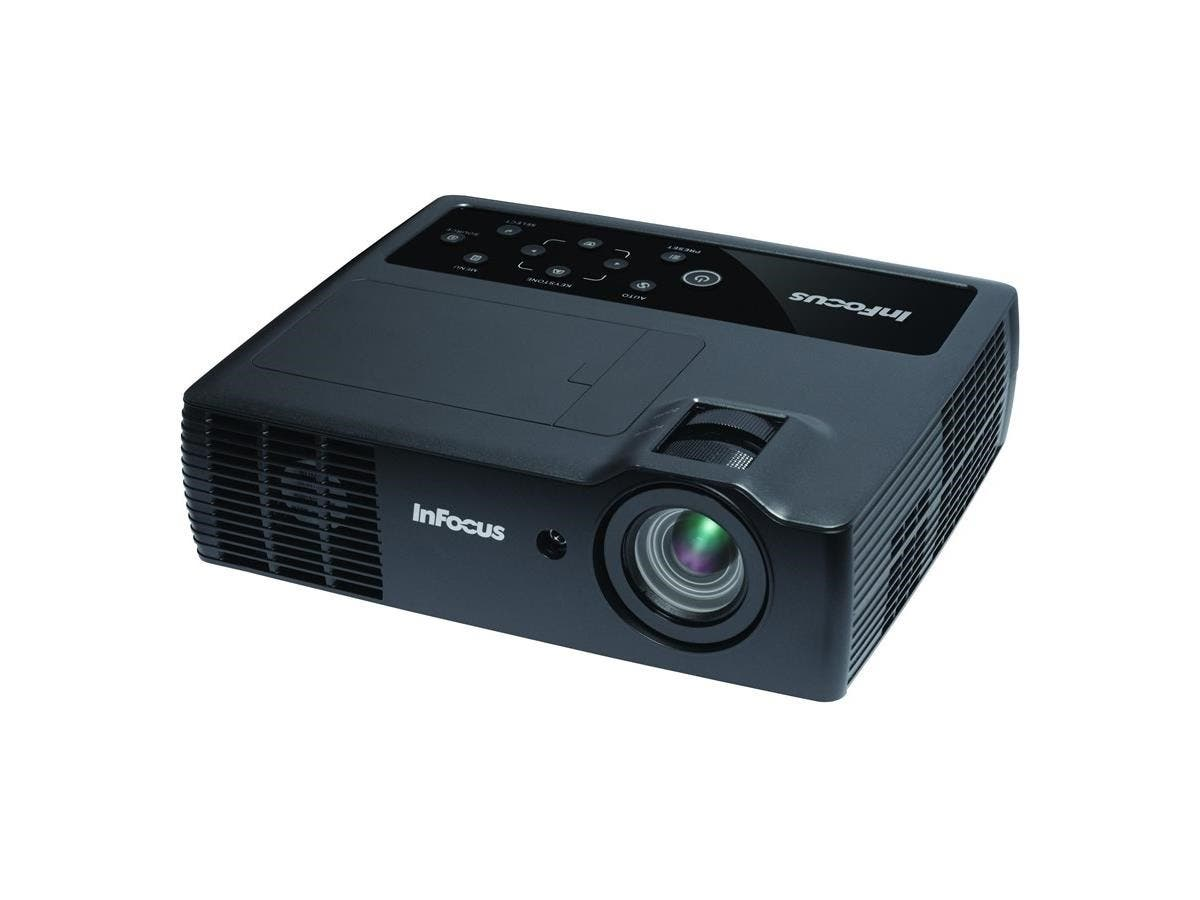 InFocus 3D Ready DLP Projector - HDTV - 16:10 - Front - 1280 x 800 - WXGA - 4,000:1 - 2200 lm - HDMI - USB - Wireless LAN - 2 Year Warranty
